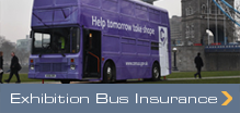 Exhibition Bus Insurance